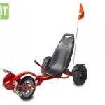 EXIT Triker Pro 100 Red 20.20.00.01 / Kinder Trike / ab 9+ Jahre / Max. 80 kg / Fahrergröße ab 140cm bis 190cm