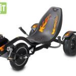 EXIT Triker Rocker Fire 20.10.00.01 / Kinder Trike / 6 bis 12 Jahre / Fahrergröße ab 120cm bis 160cm