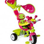 Smoby 434118 - 4-in-1 Dreirad Baby Driver Komfort Girl