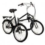Helkama E-TRIKE 3-S Pedelec Elektro Dreirad für Erwachsene 36V
